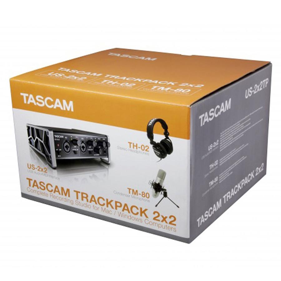 tascam trackpack 2x2 complete recording studio pack new zealand. Black Bedroom Furniture Sets. Home Design Ideas