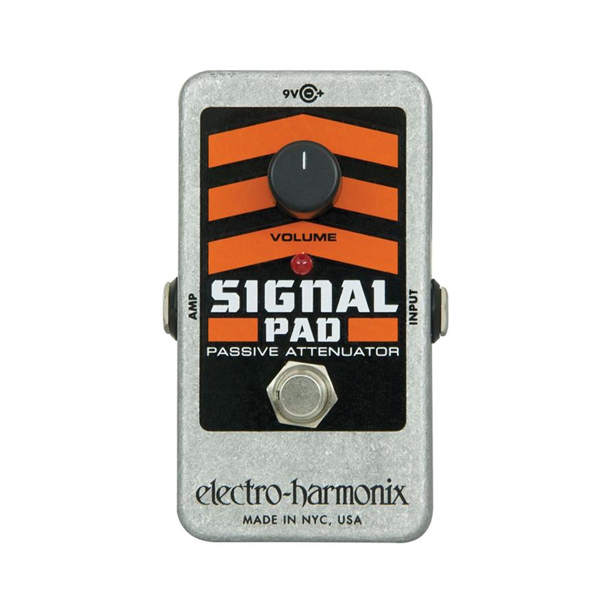 electro harmonix nano signal pad attenuator guitar effects pedal music machine nz. Black Bedroom Furniture Sets. Home Design Ideas