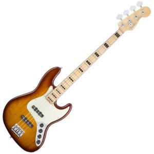 Fender American Elite Jazz Bass Ash Tobacco Sunburst