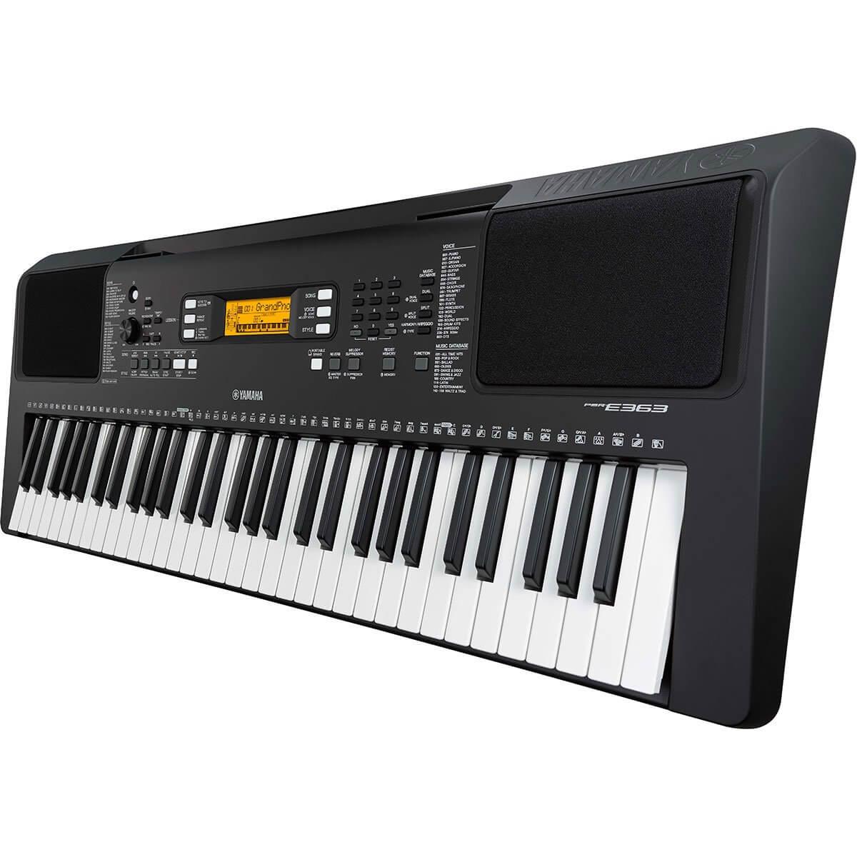 yamaha psr e363 61 key portable digital keyboard music machine musical instruments nz. Black Bedroom Furniture Sets. Home Design Ideas